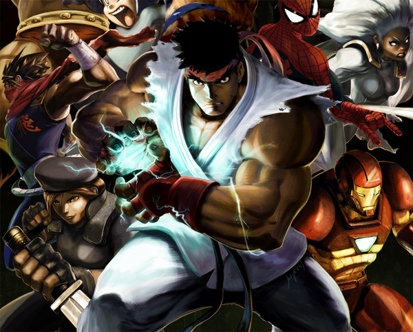 Marvel vs. Capcom 3 Drinking Game