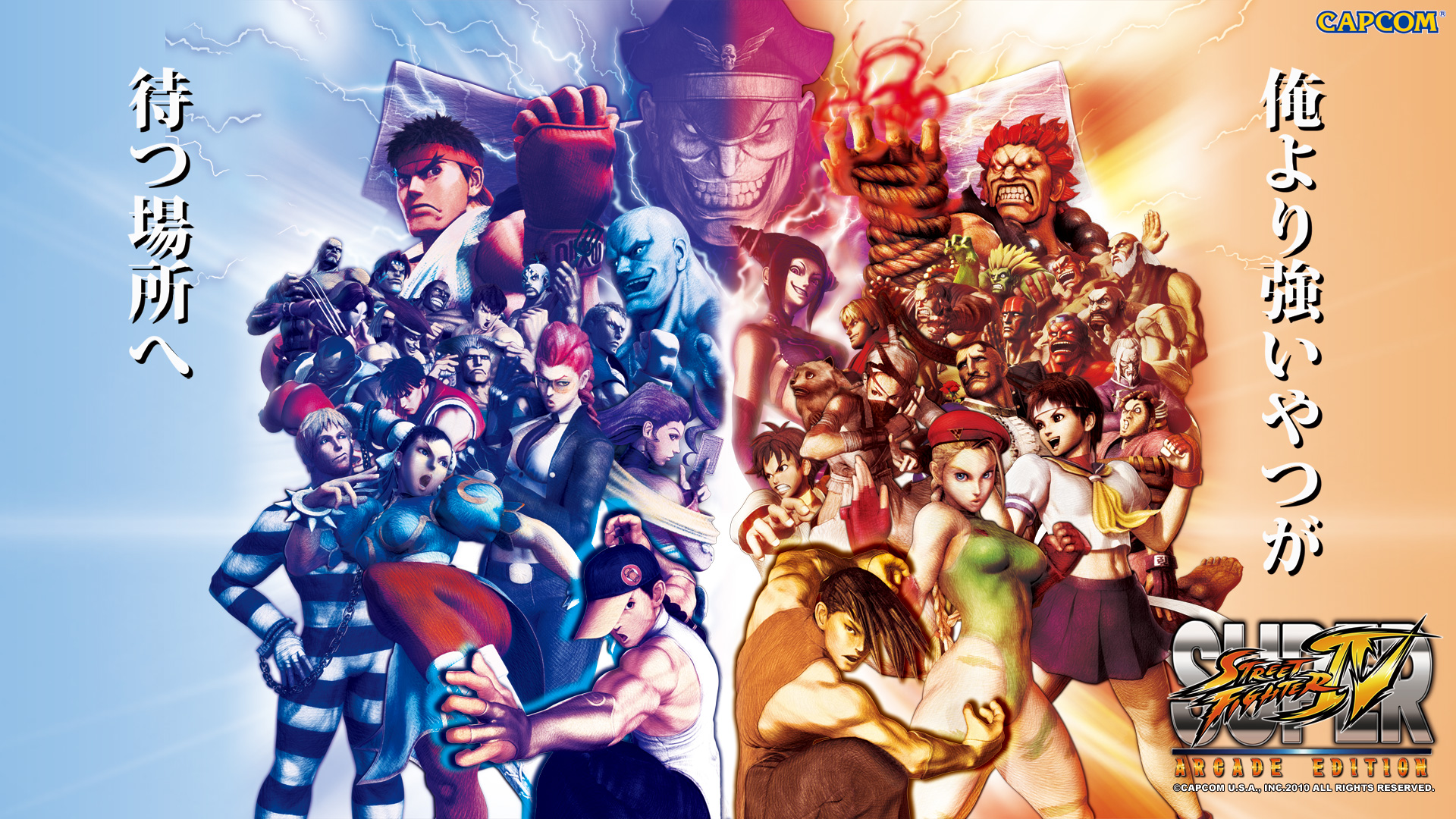 So many characters to choose from, so why does it always come back to just Ryu, Blanka & Dalsim?