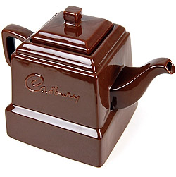 Who says chocolate teapots can't be useful? Whoever they are, tell them we think their wrong!!