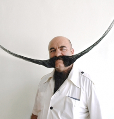 I hope my Moustache is this epic by the end of Movember!